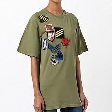 [국내] [KAK명품관] 미스터앤미세스퍼 패치 티셔츠 171TS043E C3040